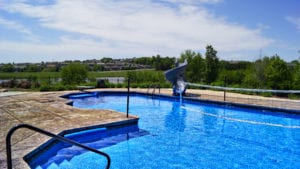 Outdoor Living In a Pool Continental Built