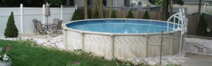 Above ground pools at Continental Pool & Spa