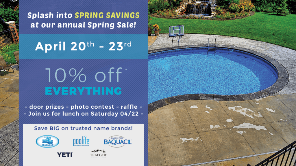 Continental Pool & Spa Chemical Sale