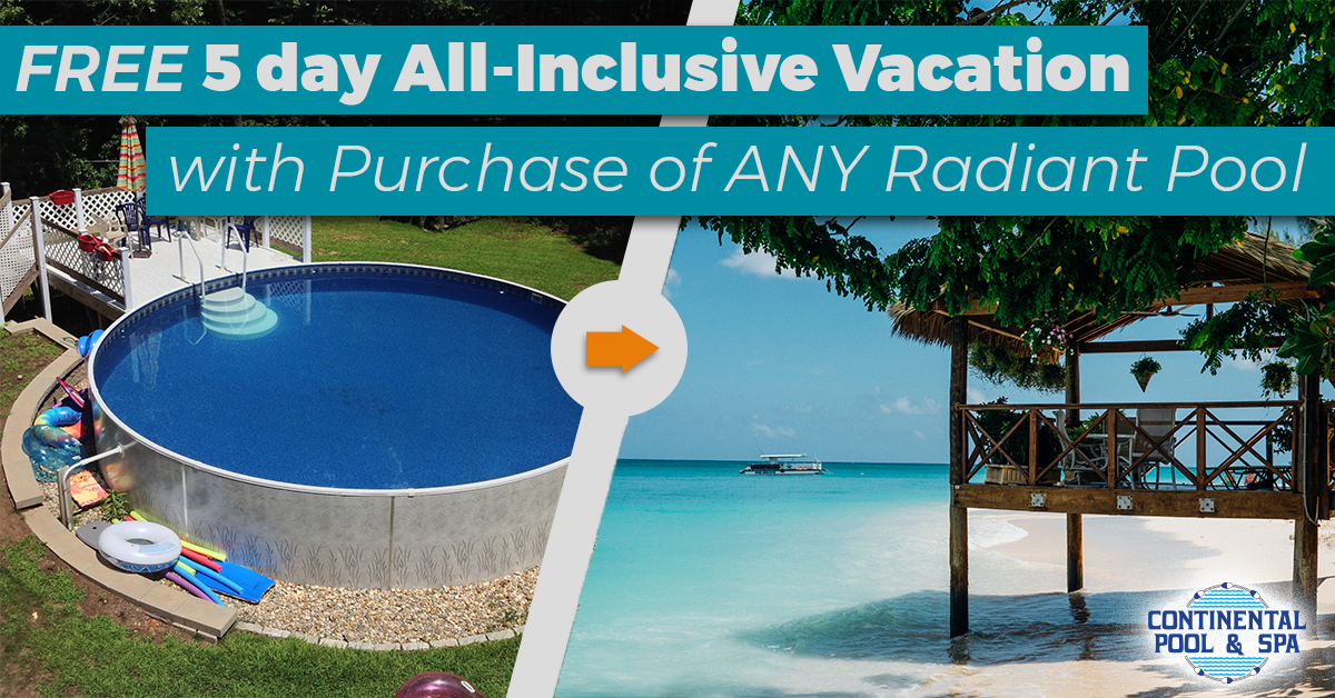 Radiant Pools Dad's & Grads Free Vacation Promo
