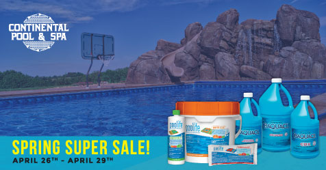 Spring Pool Chemical Sale