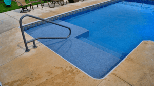 Swimming Pool Sunshelf