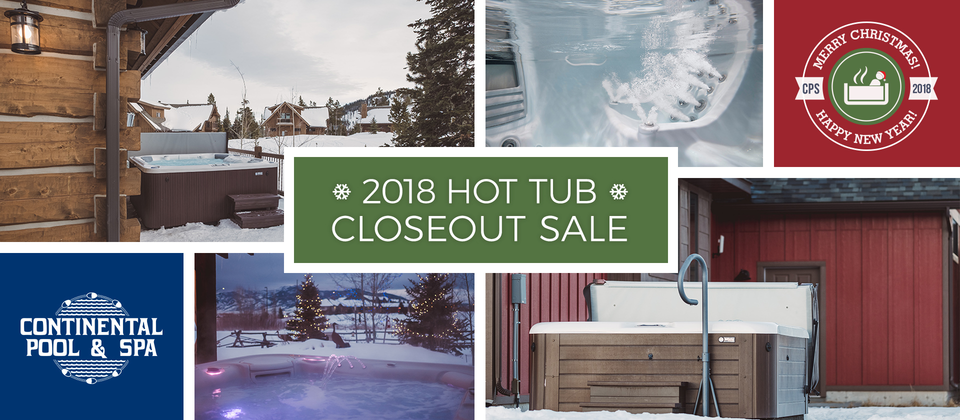 2018 Closeout Hot Tub Sale